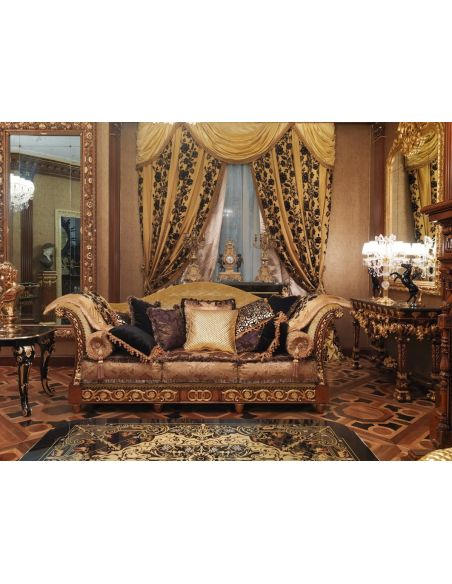 SOFA, COUCH & LOVESEAT 1 Empire style high end sofa. Handmade in Europe.