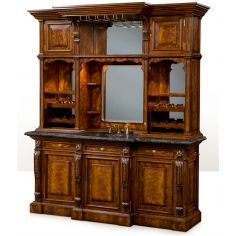 1 Top of the line Empire style home bar. Luxury furniture.