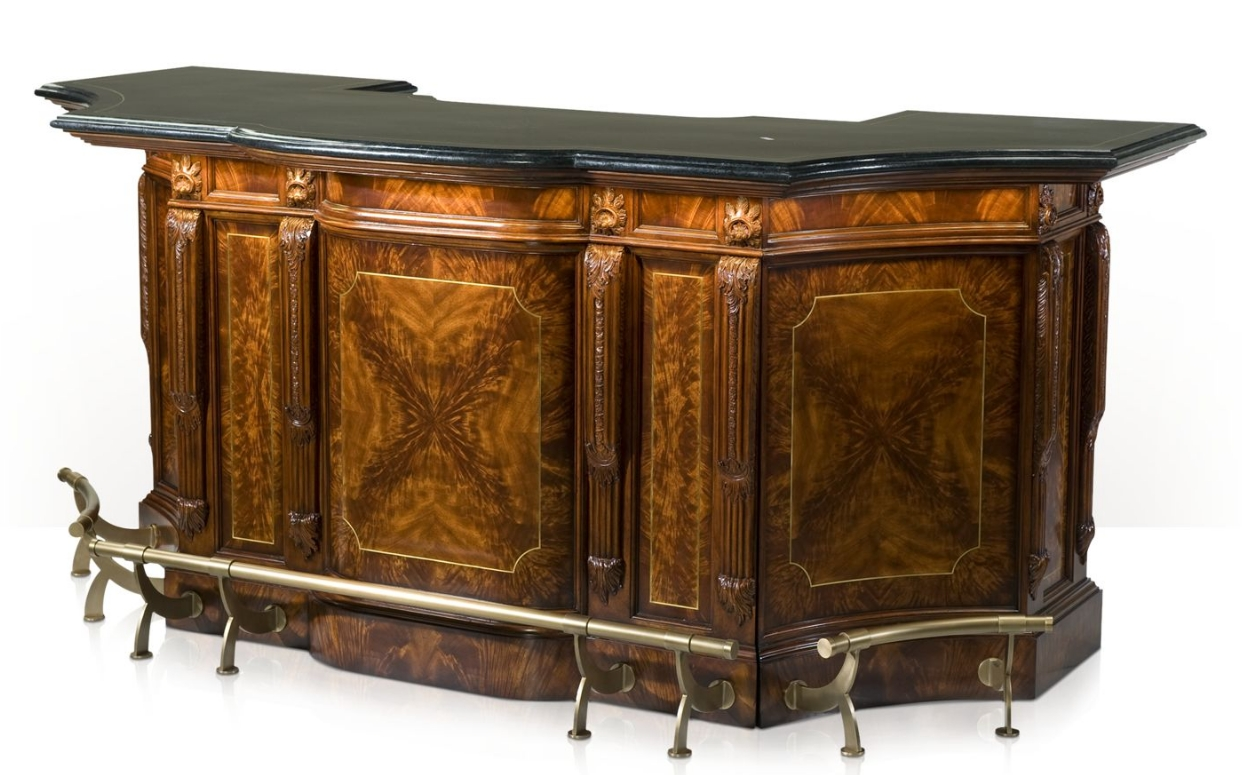 1 Top Of The Line Empire Style Home Bar Luxury Furniture