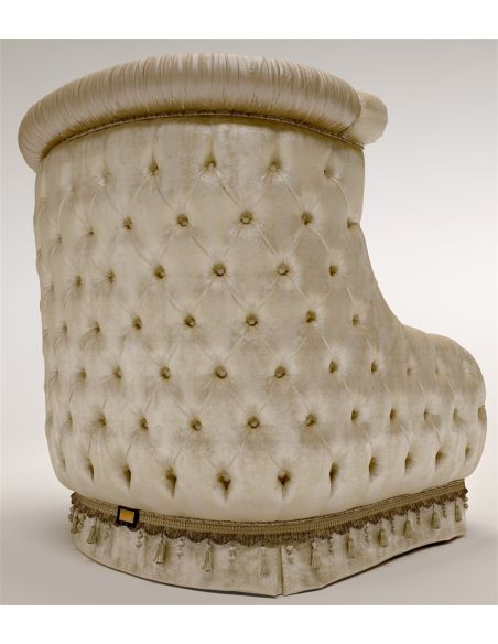 Luxury Leather & Upholstered Furniture Furniture Masterpiece Collection, chair. Handmade in Europe.