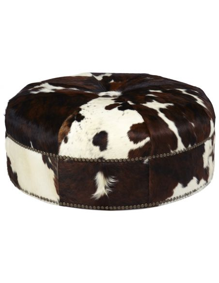 Luxury Leather & Upholstered Furniture Upholstered Ottoman