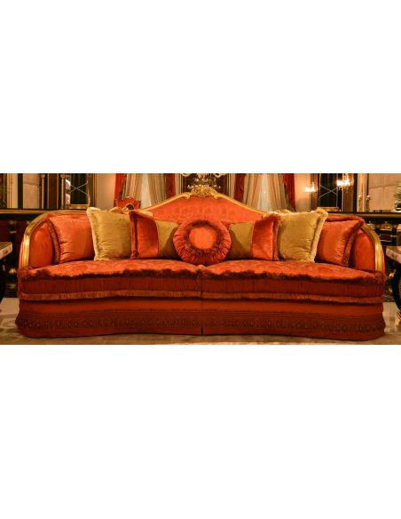 SOFA, COUCH & LOVESEAT Furniture Masterpiece Collection, sofa. Handmade in Europe.