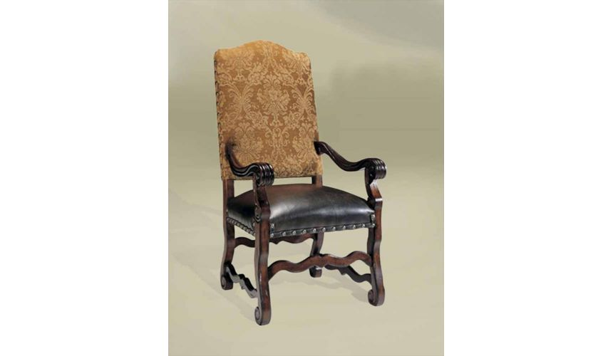 Dining Chairs Rustic Luxury Furniture, European Style Furniture