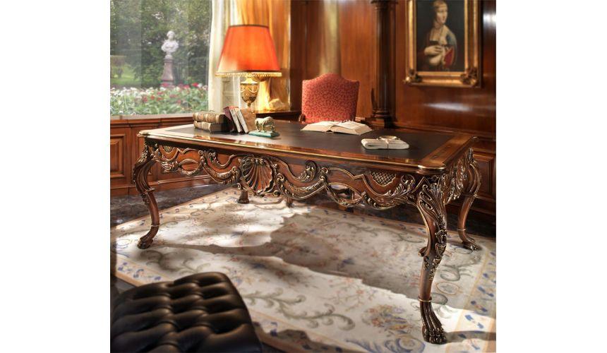 Furniture Masterpieces Extraordinary luxury writing desk. Furniture masterpiece collection.