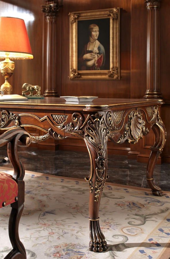 Extraordinary Luxury Writing Desk Furniture Masterpiece
