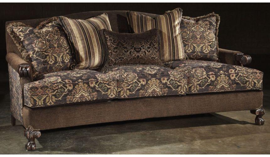 SOFA, COUCH & LOVESEAT fabric sofa. 598