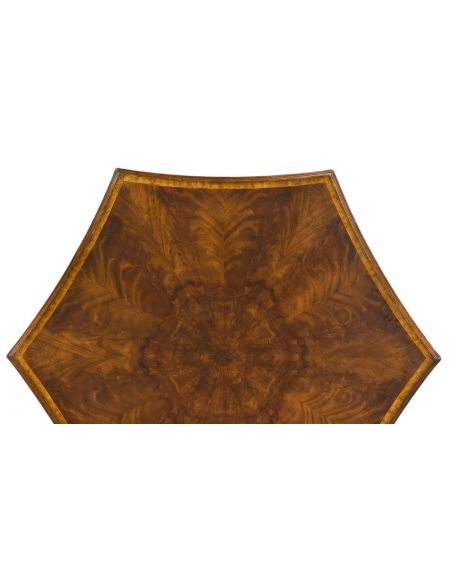 Game Card Tables & Game Chairs Fancy card or game table leather top seating for six players
