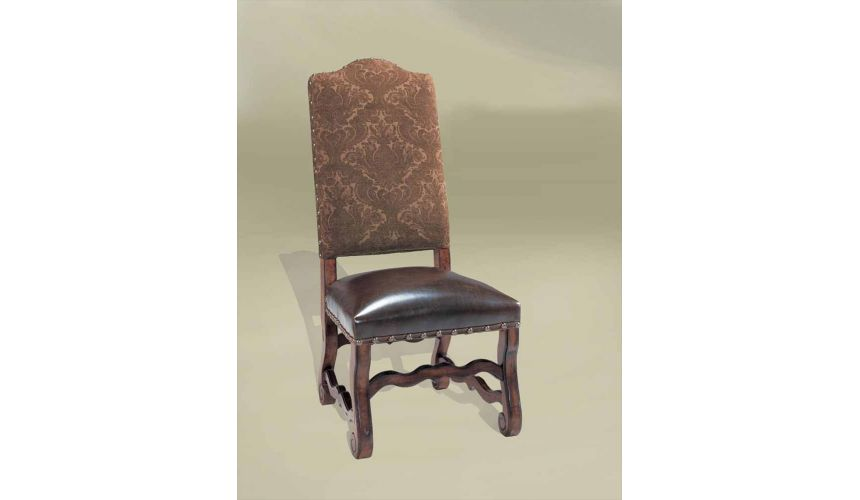 Dining Chairs Rustic Luxury Furniture French Choc Side Chair