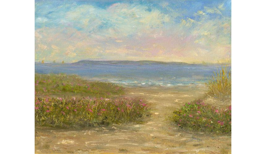 Original Oil Paintings By Artist: Anne-Marie Debuissert Fine art Summer Daze
