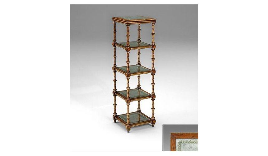 Decorative Accessories Five-tier-shelves-w-glass