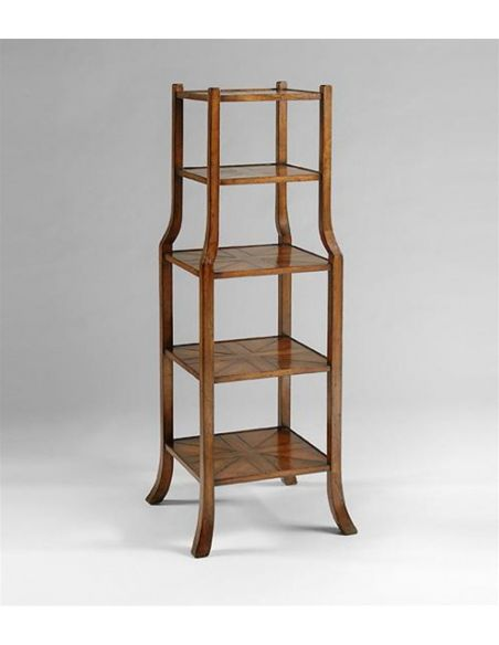 Decorative Accessories Five-tier-shelves-with-parquet
