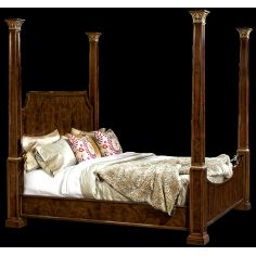 Four post bed. American made furniture and furnishings.