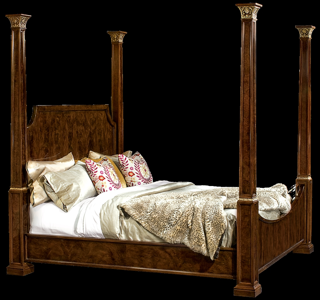 Four post bed american made furniture and furnishings for American made beds