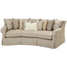 Upholstered Living Room Sofa