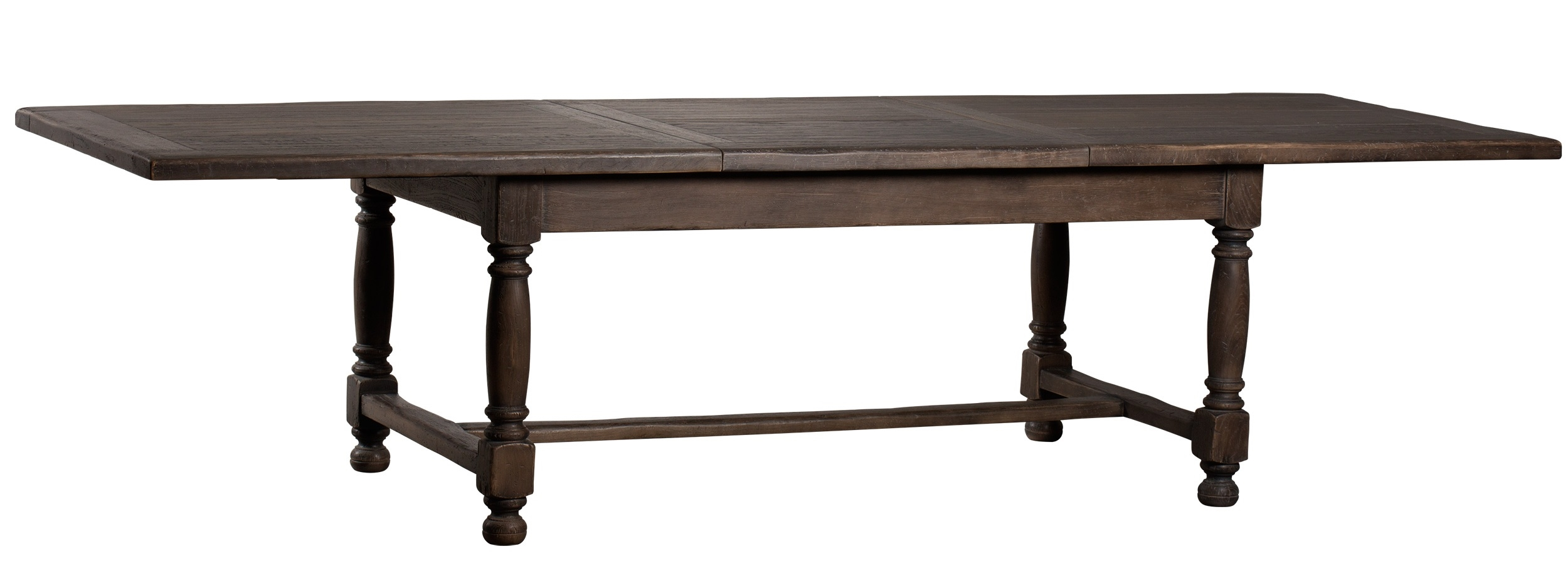 Luxury extending dining table french country home collection for Luxury dinner table