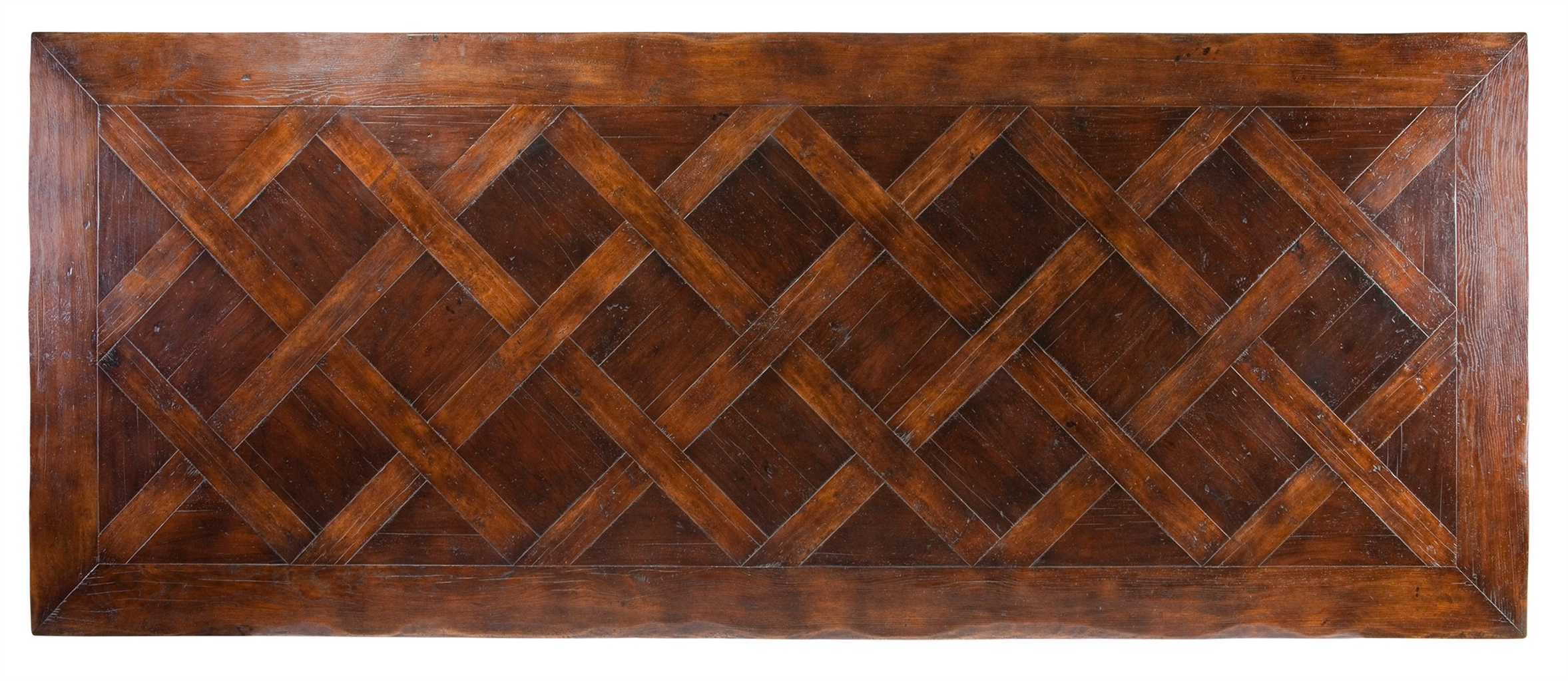 Dining Tables Luxury Basket Weave Pattern Dining Table