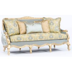 French style sofa. Tufted luxury furniture. 301