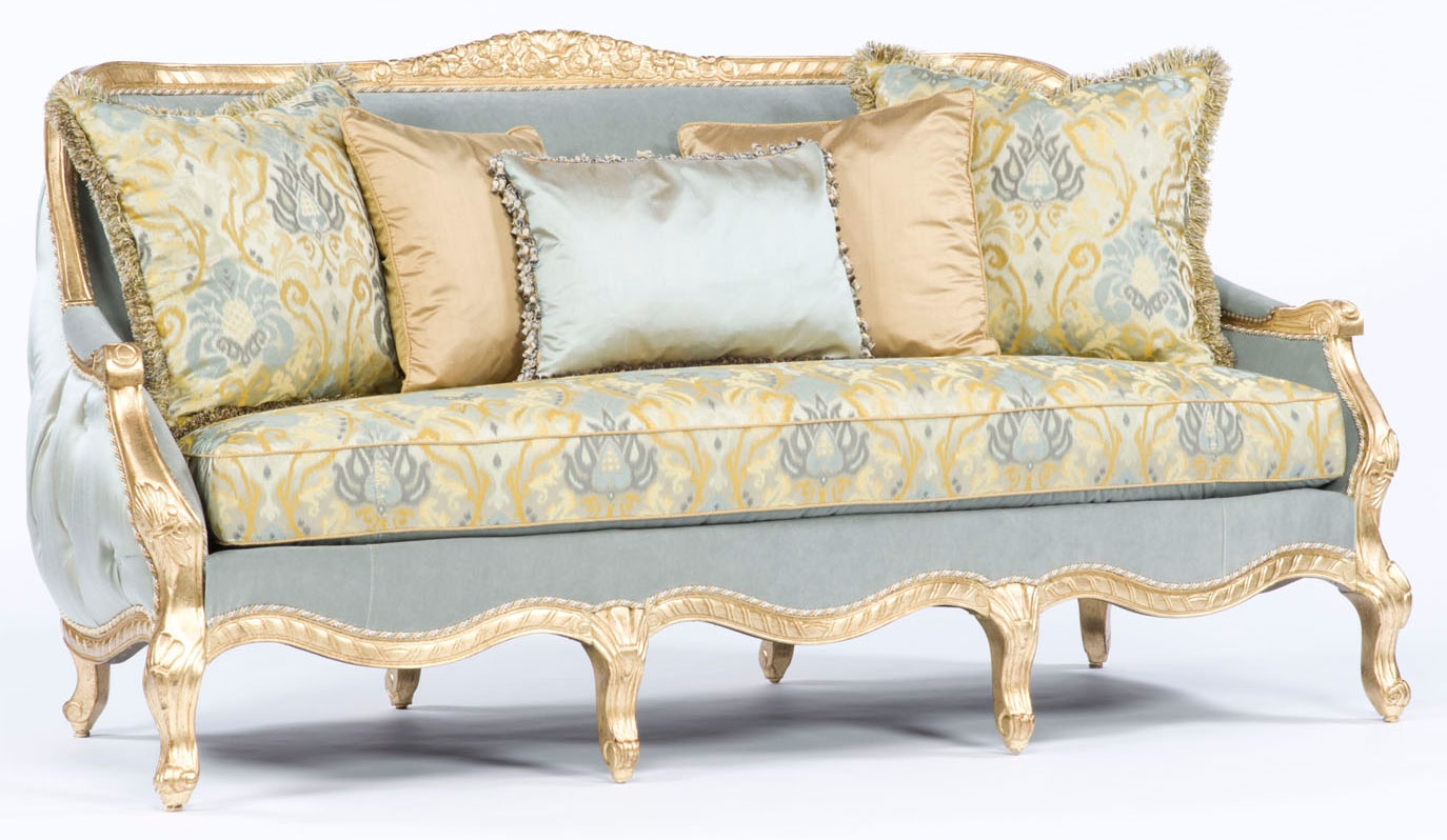 French style sofa tufted luxury furniture 301 for Furniture in french
