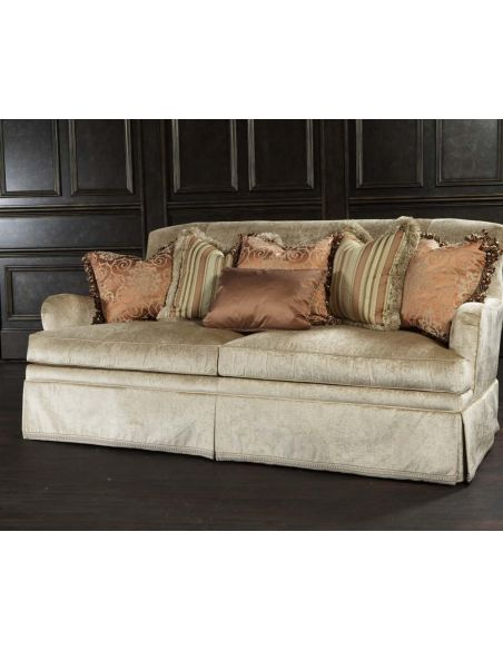 SOFA, COUCH & LOVESEAT Love seat, sofa, chair, leather, fabric