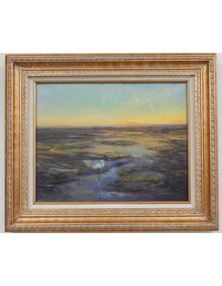 Original Oil Paintings By Artist: Anne-Marie Debuissert Dainty Blossoms, gallery East Greenwich Rhode Island