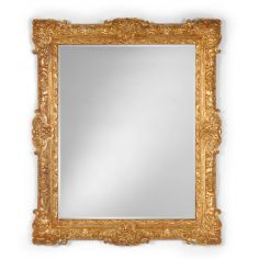 Gilded Carved Mirror Frame Home Accessories