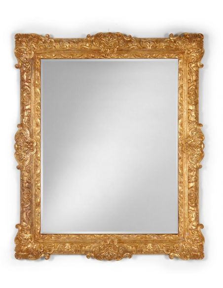 Decorative Accessories Gilded Carved Mirror Frame Home Accessories