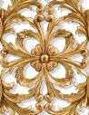 Decorative Accessories Hand carved pair of solid wood and gilded wall panel. Antique reproduction