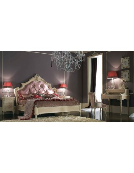 BEDS - Queen, King & California King Sizes Glamor girl bedroom set