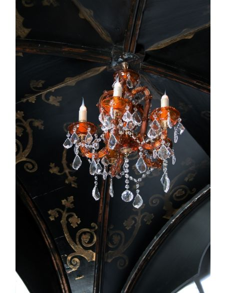 BEDS - Queen, King & California King Sizes Gothic Home Furnishings - Gothic canopy bed fashion forward Custom made