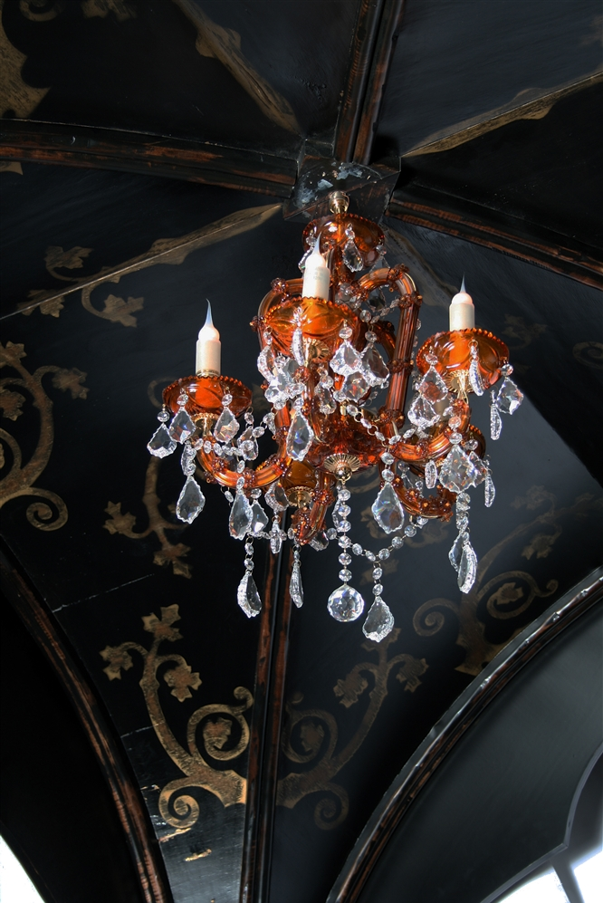 gothic home furnishings - gothic canopy bed fashion forward custom