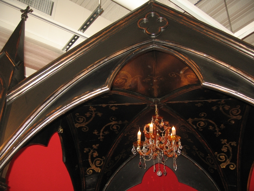 BEDS - Queen, King & California King Sizes Gothic Home Furnishings - Gothic  canopy bed