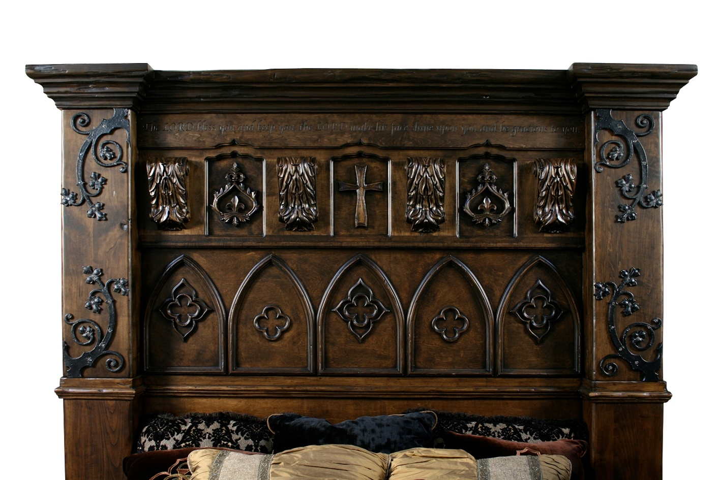 BEDS   Queen, King U0026 California King Sizes Gothic High Style Bed High End  Bedroom