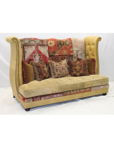 33 Gothic tapestry sofa, unique high style furniture
