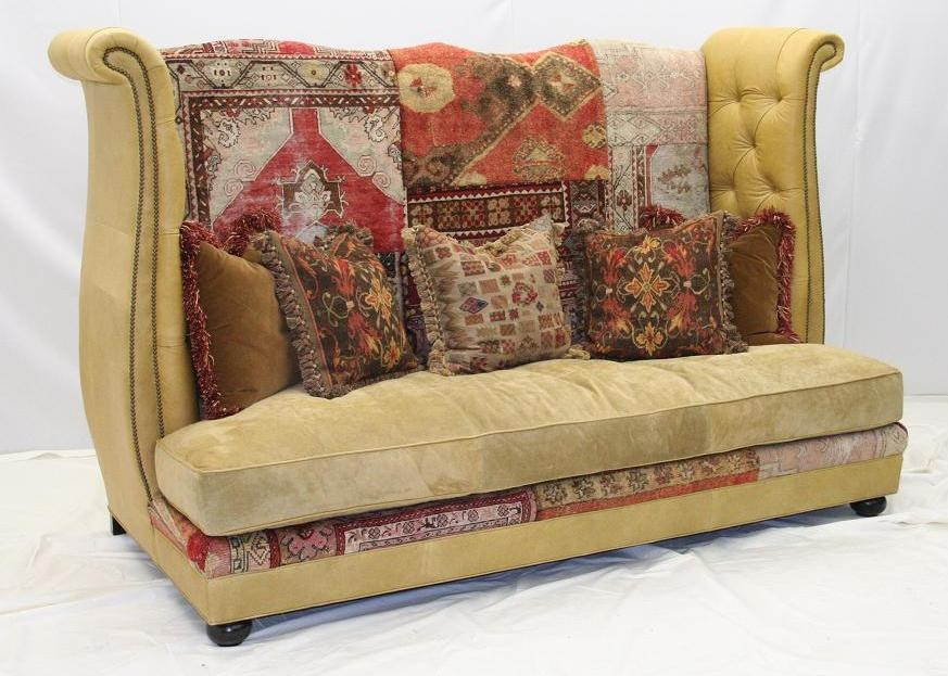 Sofa Tapestry Traditional Fl Tapestry Sofa Settee Chair ...