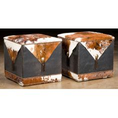 Grand home furniture and furnishings. Cube ottomans. 13