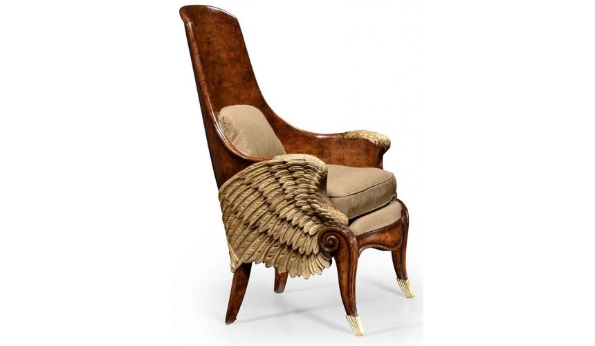 Dining Chairs Guardian Angel Wings Chair.