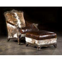 Hair Hide Chair, Western Style Furnishings