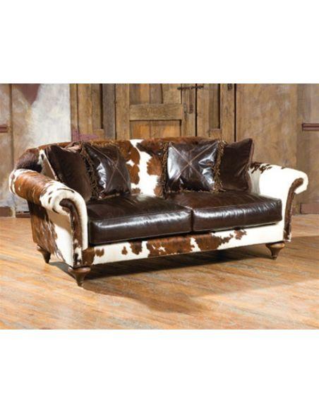 Hair-on-Hide-Sofa Unique Quality Furniture