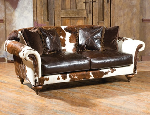 High End Ranch Of The West Sofa