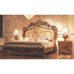 Empire Hand Carved Bed. Sleep like a Tsar