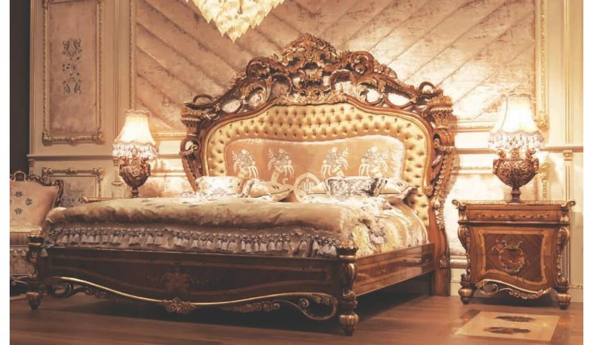 BEDS - Queen, King & California King Sizes Empire Hand Carved Bed. Sleep like a Tsar