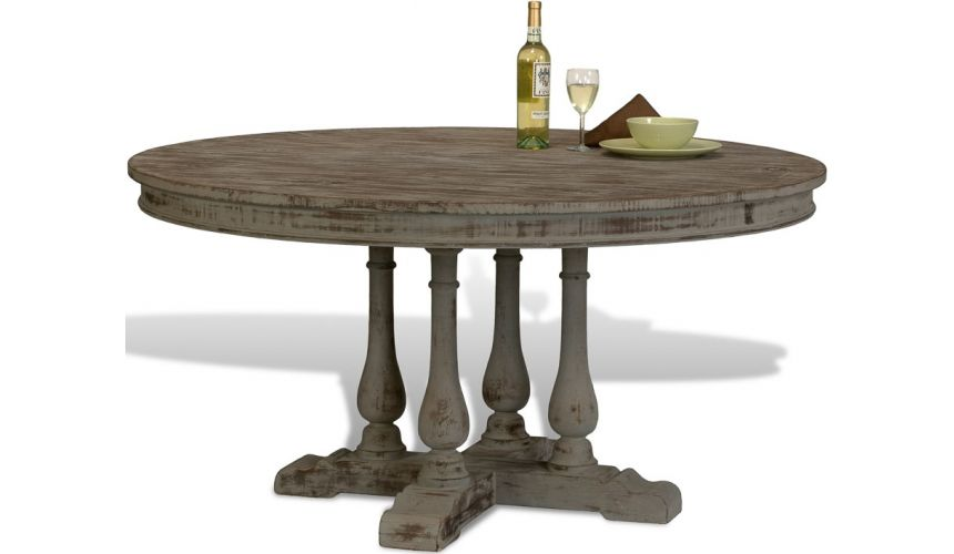 Dining Tables Recycled Rugged Dinner Table
