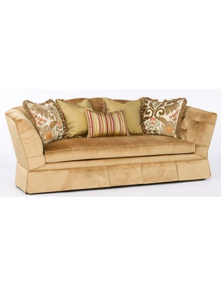 SOFA, COUCH & LOVESEAT Hermitage sofa. Luxury furniture, tufted sofa