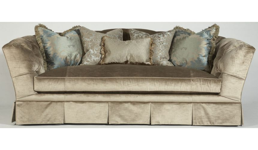 SOFA, COUCH & LOVESEAT Hermitage sofa. Luxury furniture, Champagne