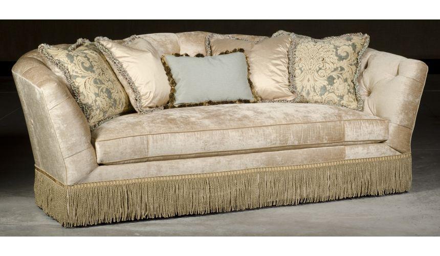 SOFA, COUCH & LOVESEAT Hermitage sofa. Luxury furniture, Cream