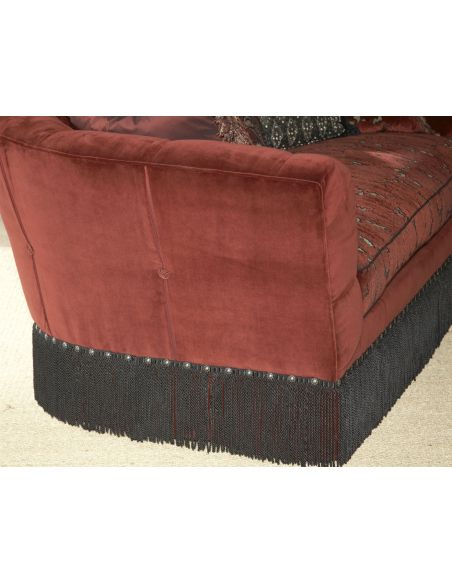 SOFA, COUCH & LOVESEAT Hermitage sofa. Luxury furniture, Ravishing Red
