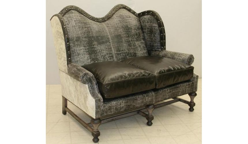 High Back Love Seat 9010-04