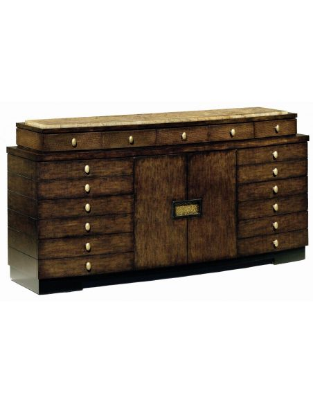 Breakfronts & China Cabinets High end buffet or dresser. Modern furnishings.