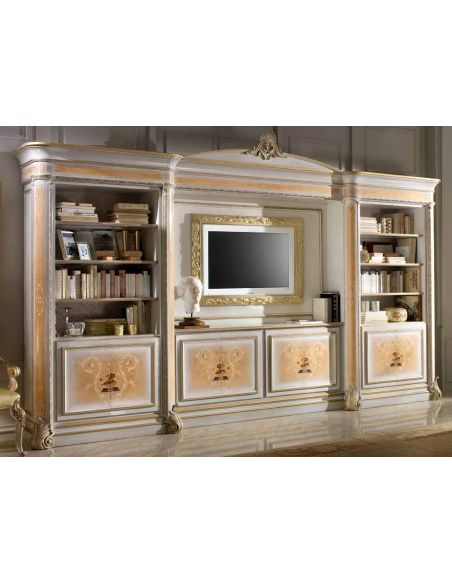 Breakfronts & China Cabinets High end china display cabinet Italian luxury furniture