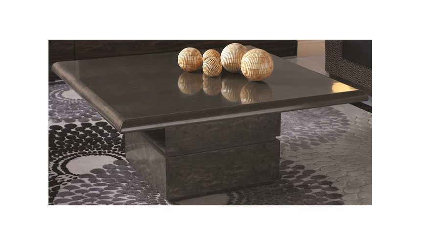 Coffee Tables Square-shaped cocktail table